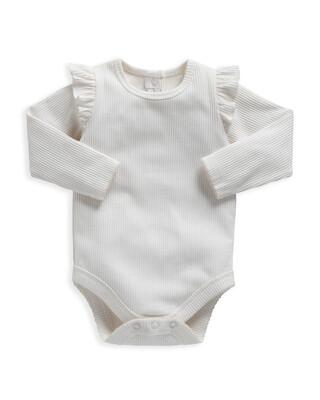 Frill Jersey Bodysuit