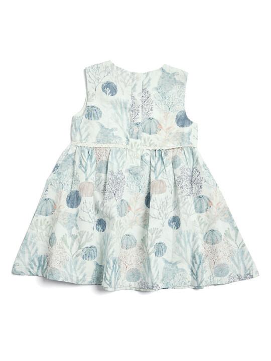فستان منسوج بطبعة بحّار image number 1