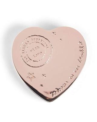 ROSE GOLD - WTTW HEART TRINKET