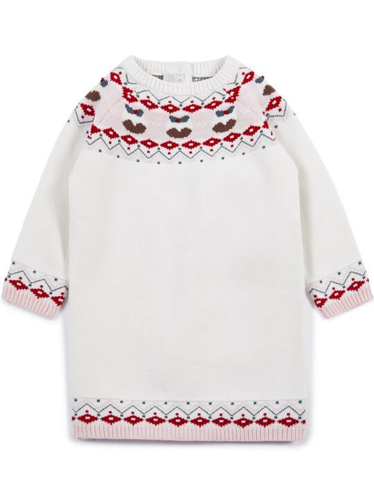 فستان كريسماس بنقشة فير أيل image number 1