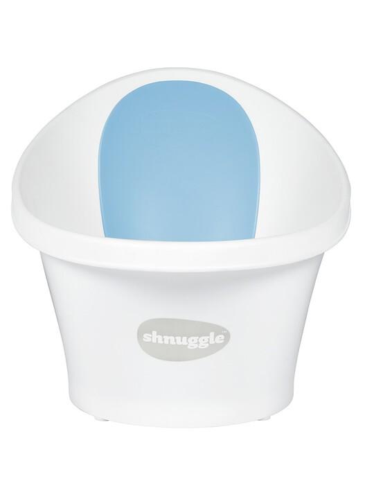 حوض استحمام شناغل - أبيض وأزرق image number 1