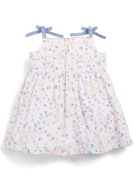 فستان مطبوع بحمالات image number 2
