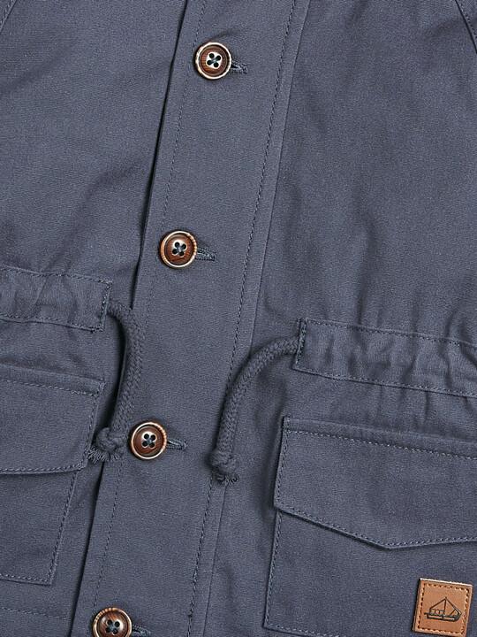 معطف باركر 2 في 1 - كحلي image number 3