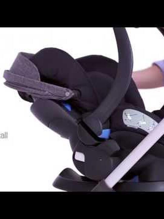 مقعد سيارة Stokke® iZiSleep من BeSafe - لون أسود image number 6