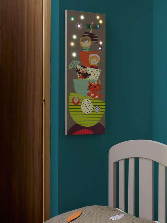 اللوحة الكتانية المضائة بمصابيح LED - Timbuktales image number 3