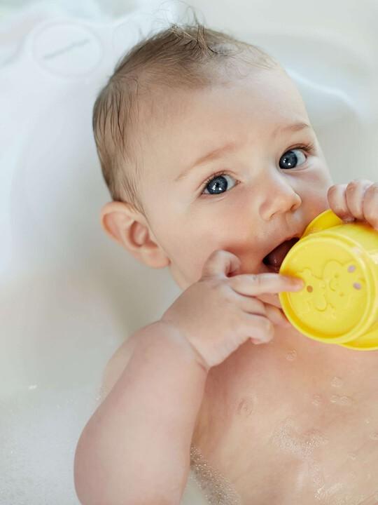حوض استحمام Acqua Bambino بمستويين - أبيض لؤلؤ image number 4