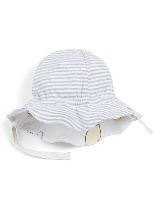 قبعة بطبعة ليمون image number 2