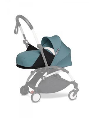 مجموعة مقعد عربة أطفال يويو لحديثي الولادة - أزرق