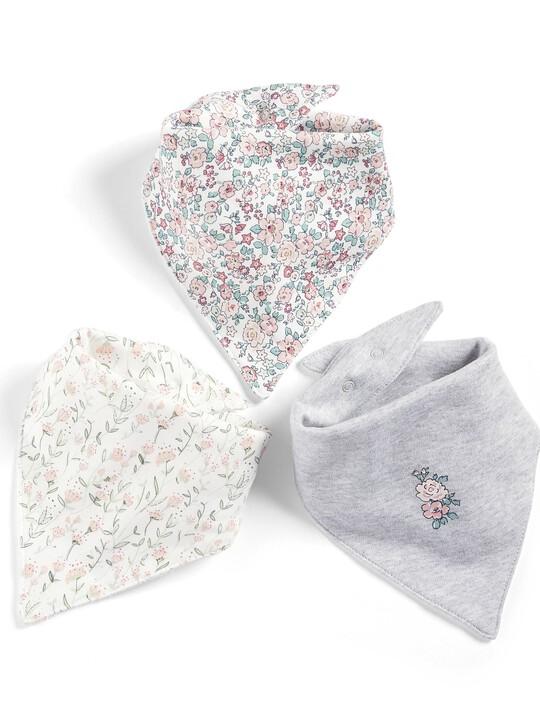 صدريات بتصميم باندانا وطبعة الزهور (3 قطع) image number 1