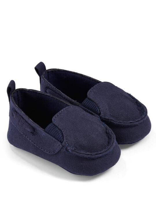 حذاء سهل الإرتداء باللون الكحلي image number 1