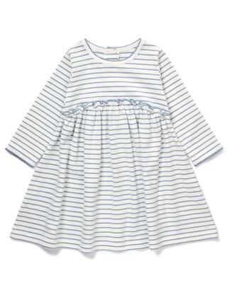 فستان جيرسيه مخطط
