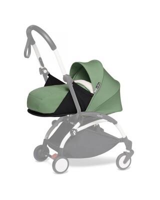 مجموعة مقعد عربة أطفال يويو لحديثي الولادة - أخضر فاتح