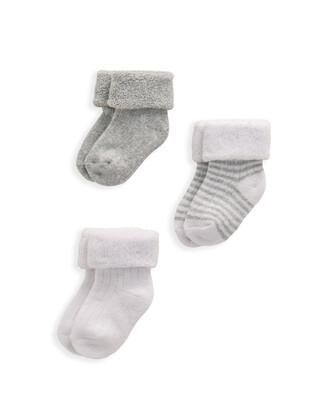 Grey Socks 3 Pack