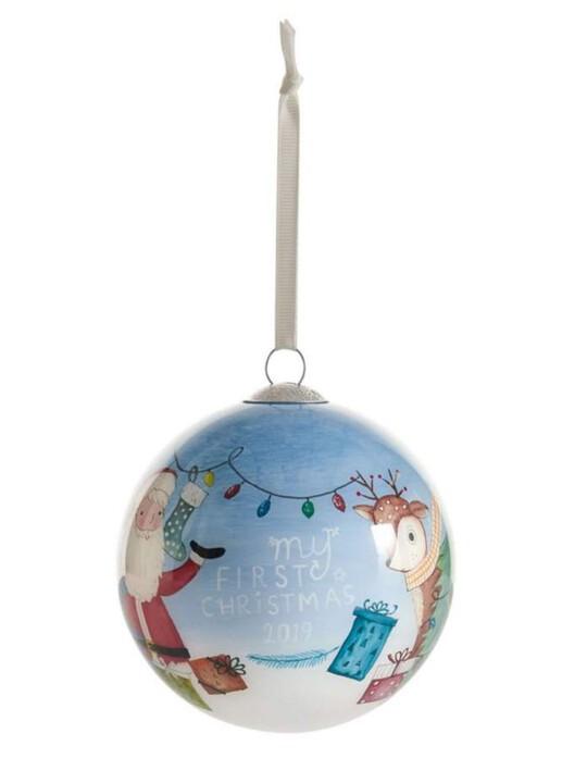 زينة ماي فيرست كريسماس 2019 - أزرق image number 1