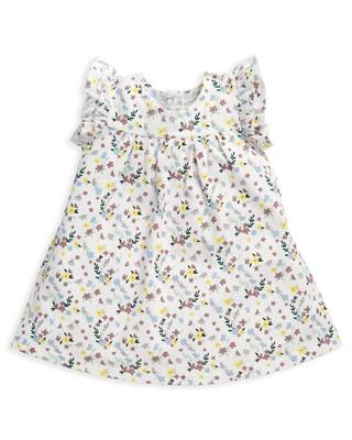 فستان جيرسيه بنقشة زهور