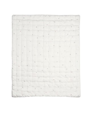 Welcome to the World Floral Quilt - Pink