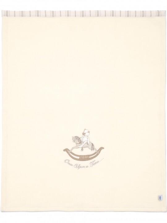 بطانية صوفية مطرزة للجنسين من Once Upon A Time (الطول: 70 × العرض: 100 سم) image number 2