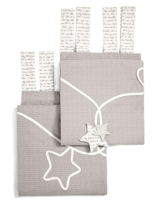 ستائر مبطنة ذات ربطات علوية من Millie & Boris - (العرض: 132 × الطول: 160 سم) image number 3