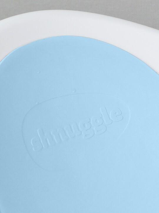 حوض استحمام شناغل - أبيض وأزرق image number 6