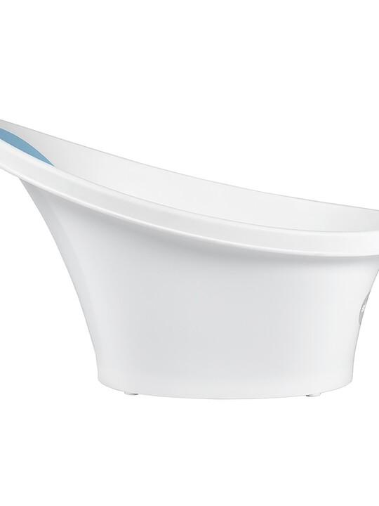 حوض استحمام شناغل - أبيض وأزرق image number 5