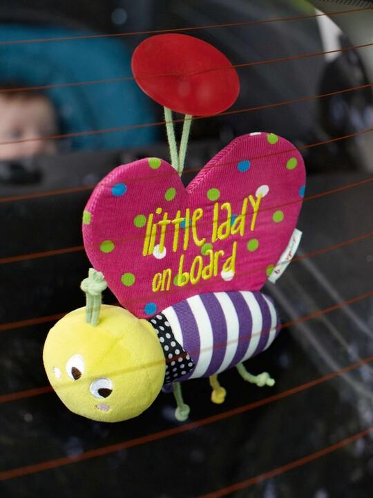 فراشة بشعار Baby On Board - Babyplay image number 2