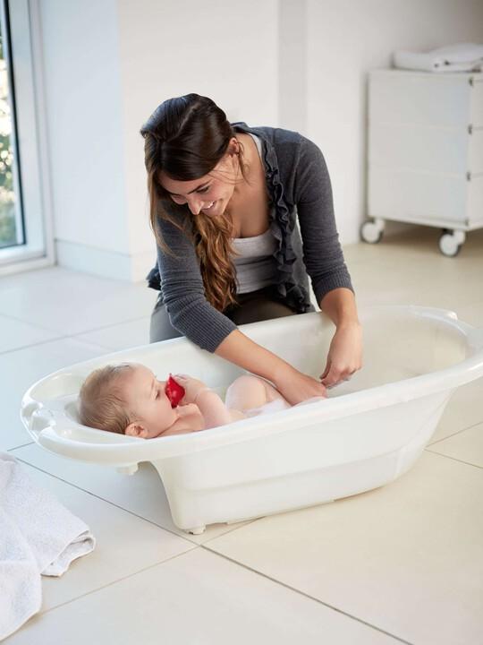 حوض استحمام Acqua Bambino بمستويين - أبيض لؤلؤ image number 3
