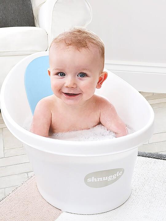 حوض استحمام شناغل - أبيض وأزرق image number 4