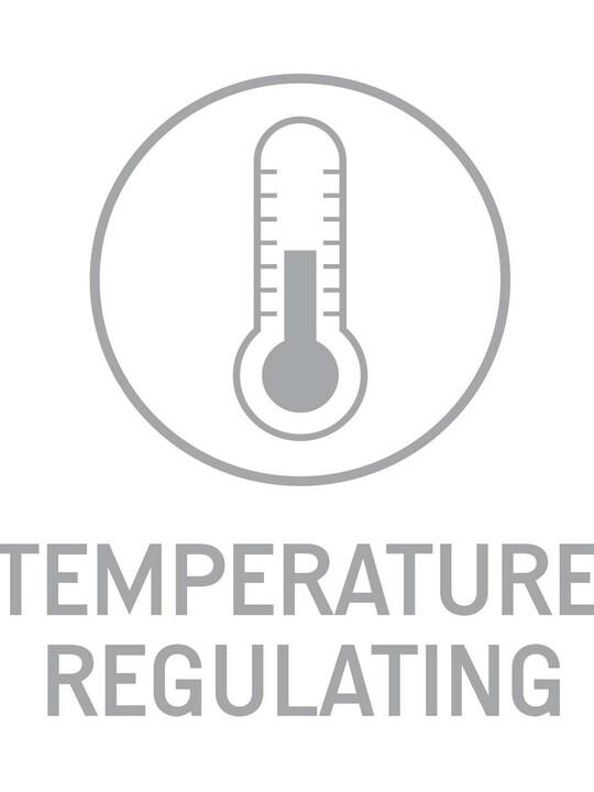 غطاء مرتبة المهد بنسيج Thermo + المضاد للحساسية image number 2