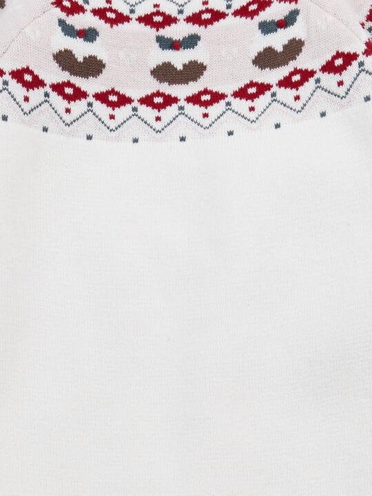 فستان كريسماس بنقشة فير أيل image number 3