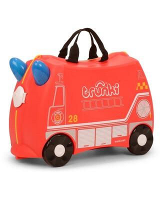حقيبة سفر بتصميم سيارة الإطفاء فرانك من ترانكي