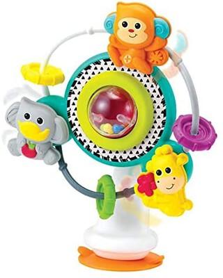 لعبة حيوانات الغابة بتصميم عجلة